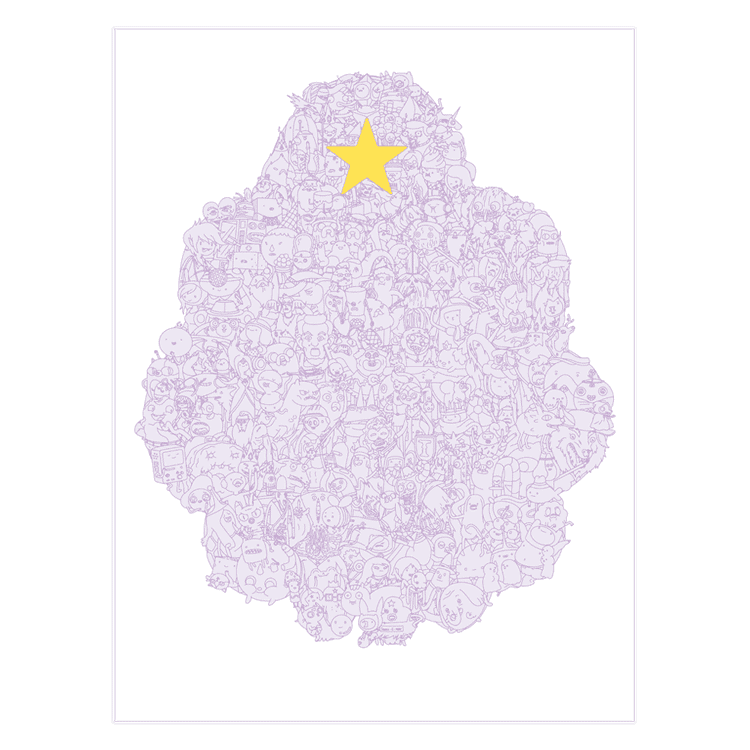 Lumpy Space Poster - Adventure Time Poster