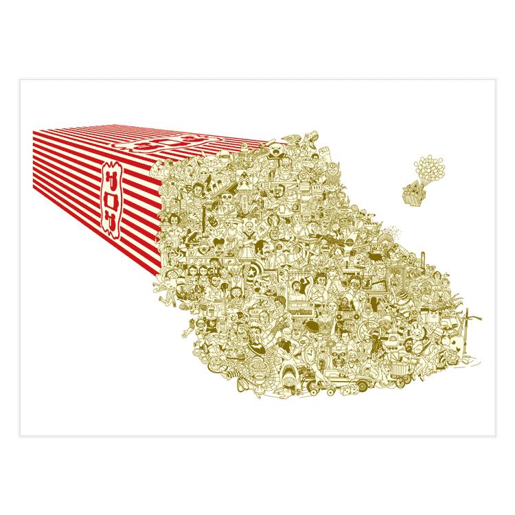 No More Popcorn - Movie Poster